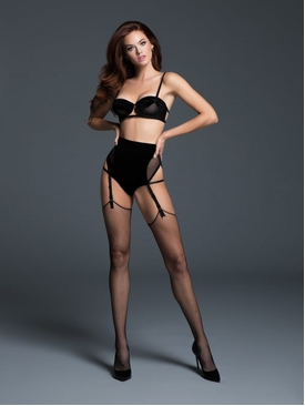Adore A1064 The Love Affair Balconette Bra & Panty W/Garters