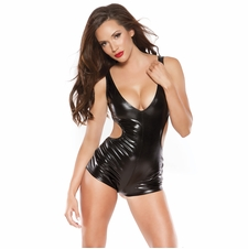 Allure 10-1072K Seductive Wet Look Jumper