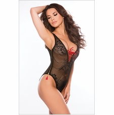 Allure 4-0012K Daizy Teddy With Zippered Sides