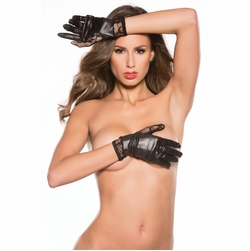 Allure G-4002K Lace and Vinyl Wrist Gloves