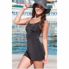 Little Black Slip Dress