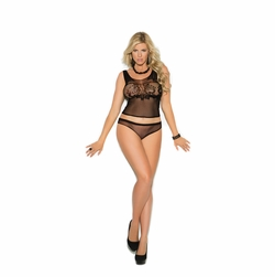 Crochet Cami Top And Matching Panty