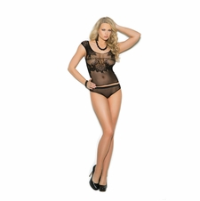 Elegant Moments 1363 Crochet Cami Top And Matching Panty