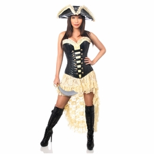 Daisy 4 PC Pirate Wench Costume