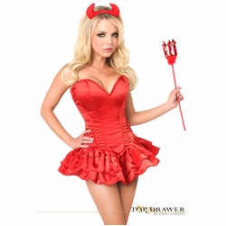 Daisy TD-911 Top Drawer Delicious Devil Corset Dress Costume