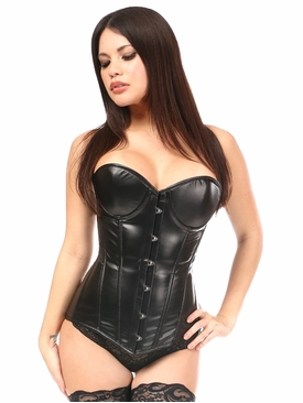 Daisy Corsets Wet Look Underwire Corset