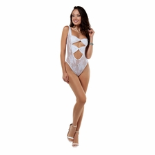 Desired Reversible Bodystocking With Cut Outs