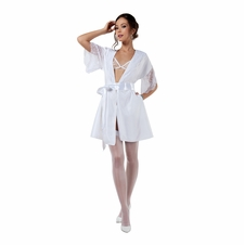 Elegant Evening Satin Robe