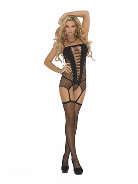 Elegant Moments 1525 Camisette, G-String And Stockings