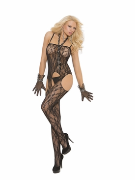 Elegant Moments 1612 Lace Suspender Bodystocking