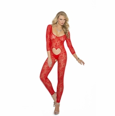 Elegant Moments 1635 Lace Bodystocking