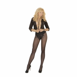 Elegant Moments 1715Q French Cut Support Pantyhose