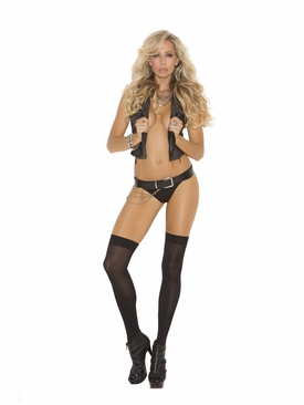 Elegant Moments 1719 Opaque Thigh Hi