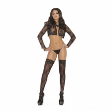 Elegant Moments 1729 Lace Thigh Hi