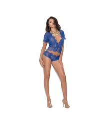 Elegant Moments 3094 Eyelash Lace Cami Top W/Panty