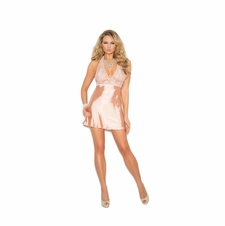 Elegant Moments 4312 Halter Neck Babydoll
