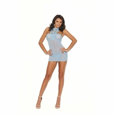 Elegant Moments 44005 Babydoll With Crochet Detail