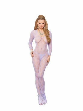 Elegant Moments 81294 Long Sleeve Bodystocking