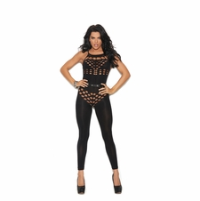 Elegant Moments 82183 Opaque Footless Bodystocking