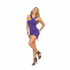 Elegant Moments 8337 Asymmetrical Mini Dress