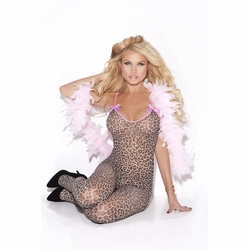 Elegant Moments 8549 Bodystocking With Satin Bows