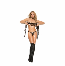 Elegant Moments L9778 Leather G-String