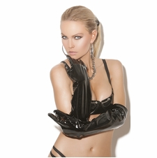 Elegant Moments V9245 Long Vinyl Gloves