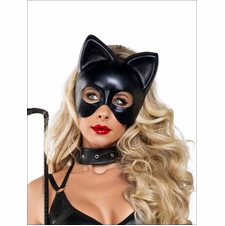 Sexy Black Full Cat Mask