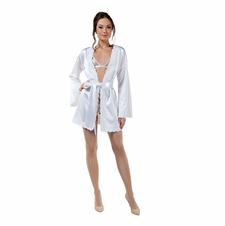 Heavenly Body Satin Robe