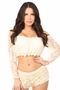 Lined Lace Long Sleeve Peasant Top Many Colors - image 3