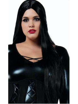 Long Straight Black Wig