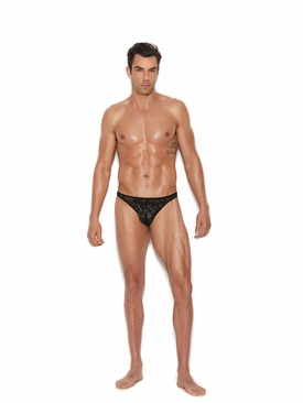 Men's Lace Thong