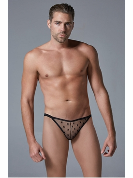 Men's Sheer Star G-String
