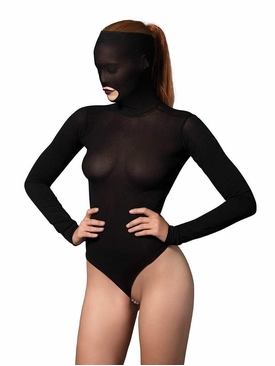 Opaque Masked Teddy With G-String