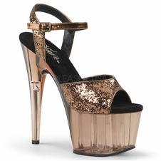 Pleaser Adore-710GT Ankle Strap Sandal