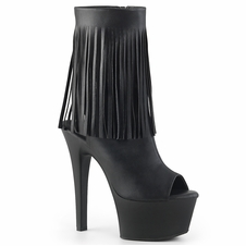 Pleaser Aspire-1019 Fringe Ankle Boot