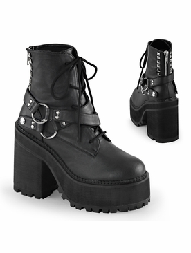 Demonia Assault-101 Lace up Ankle Boot