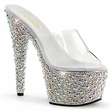 Pleaser Bejeweled-701MS Rhinestone Slide