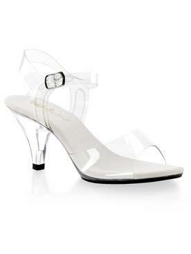 Pleaser Belle-308 Ankle Strap Sandal