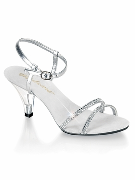 Pleaser Belle-316 Ankle Strap Sandal W/RS