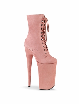 Pleaser Beyond-1020FS Faux Suede Ankle Boot