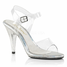Pleaser Caress-408MG Ankle Strap Sandal