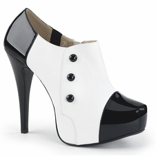 Pleaser Chloe-11 Three Button Ankle Boot