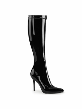 Pleaser Classique-2000 Stretch Knee High Boot