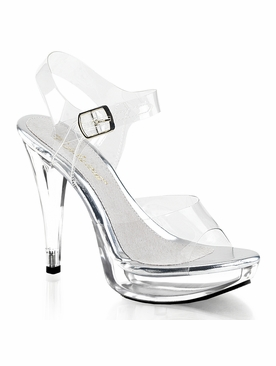 Pleaser Cocktail-508 Ankle Strap Sandal