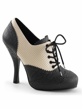 Pleaser Cutiepie-14 Platform Lace-Up Oxford