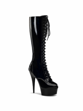 Pleaser Delight-2023 Stretch Knee High Boot