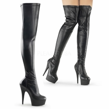 Pleaser Delight-3000 Exotic Dancer Thigh High Boot