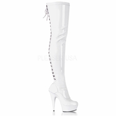 Pleaser Delight-3063 Stretch Boot