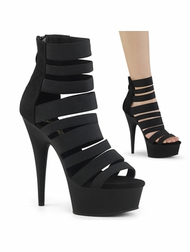 Pleaser Delight-600-17 Strappy Sandal